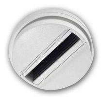 Monotrack-Aufbauadapter für Schienenstrahler, 1-Phase, weiß