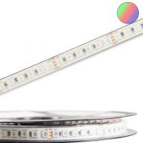 LED High End RGB Outdoor Stripe Linear, 24V, 12W, IP67, 10m Roll