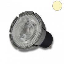 GU10 Vollspektrum LED Strahler 7W COB, 60°, 3000K, dimmbar