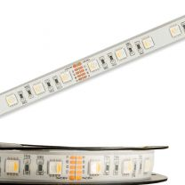 LED High End Outdoor Stripe RGB+WW, 24V, 19W, IP68, 4in1 chip