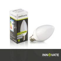 10er Set LED Lampe E14, Kerze, 5W, 400 Lumen, 2700K warmweiß