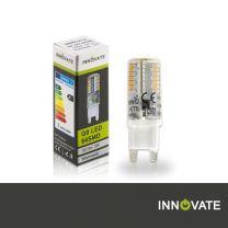 G9 LED 64SMD, 3W, vergossen, warmweiss