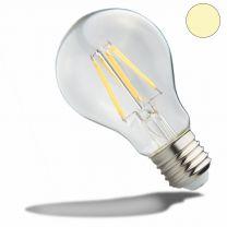 E27 LED Birne, 7 W, klar, neutralweiß
