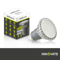 10er Set GU10 LED 5,5 W, 120°, warmweiss, dimmbar