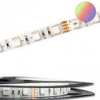 LED Streifen ECO RGB 5 Meter, 24V, 14,4W pro Meter, IP20