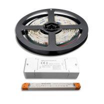 LED Streifen 2M SET 24V, RGB, 14,4W/m inkl. ZIGBEE Controller+ Trafo SLIM