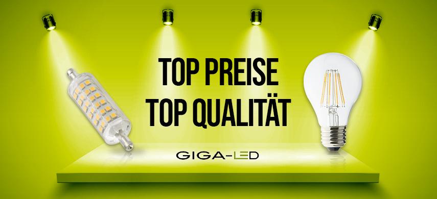 Preise und Qualität LED